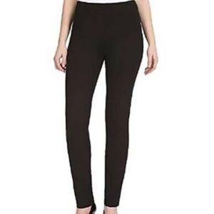 Hilary Radley Women's Slim Fit Pull-On Ponte Pants
